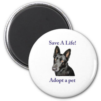 Save A Life! Magnet