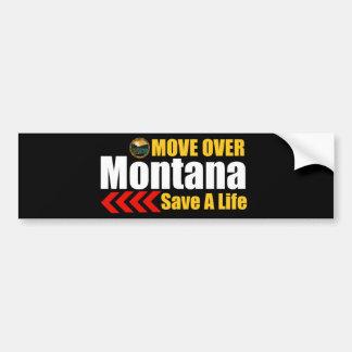 Save A Life Move Over Bumper Sticker