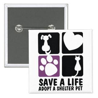 Save A Life Pinback Button