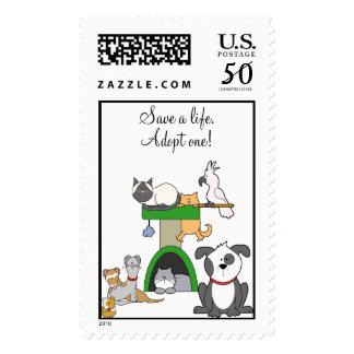 Save a life! postage