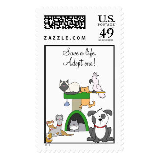 Save a life! stamps