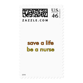 Save a Life Postage Stamp