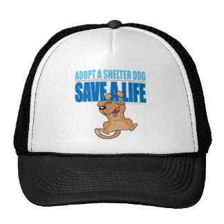 Save A Life Shelter Dog Trucker Hat