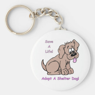 Save A Life-Shelter Dog Key Chain