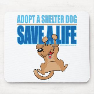 Save A Life Shelter Dog Mouse Pad