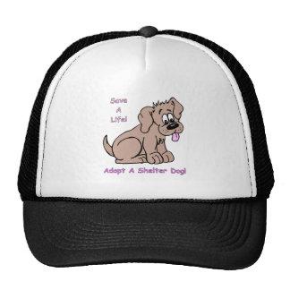 Save A Life-Shelter Dog Trucker Hat