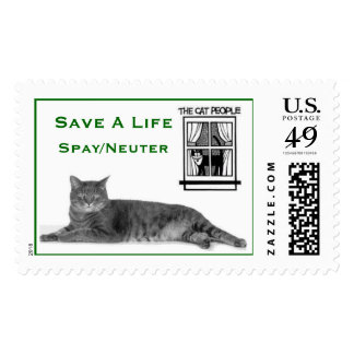 Save A Life Spay/Neuter Postage Stamp