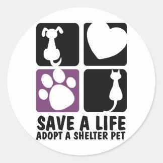 Save A Life Sticker