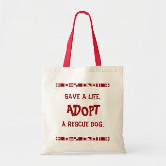 Save a life tote tote bag