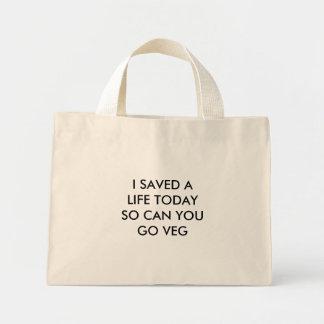 SAVE A LIFE TOTE MINI TOTE BAG