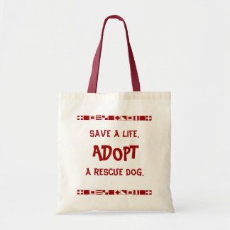 Save a life tote budget tote bag