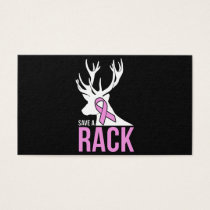 save a rack cancer t-shirts business card