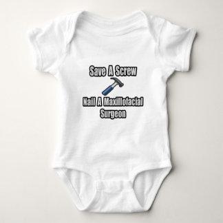 Save a Screw, Nail a Maxillofacial Surgeon Baby Bodysuit