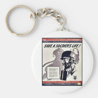 Save A Soldier's Life Key Chains