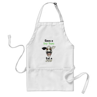 Save a Soy Bean Adult Apron