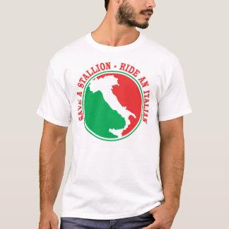 Save a Stalion... Ride an Italian T-Shirt