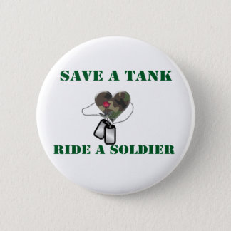 Save A Tank Ride A Soldier 3 Button