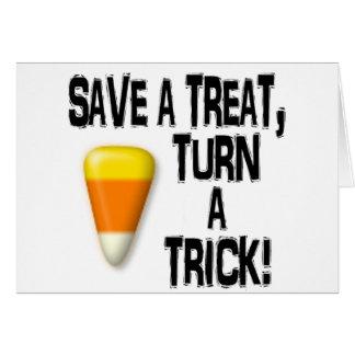Save a Treat! Card