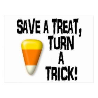 Save a Treat! Postcard