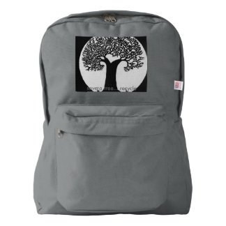 Save a tree american apparel™ backpack