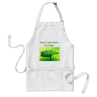Save A Tree Apron