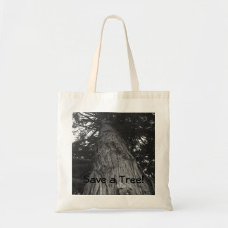 Save a Tree! Tote Bags