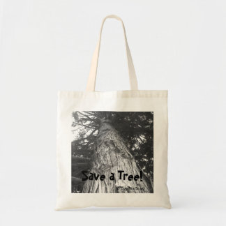Save a Tree! Canvas Bag