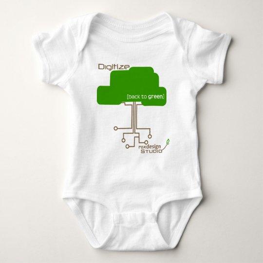 Save a Tree - Digitize Baby Bodysuit