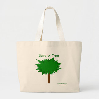 Save-A-Tree Large Tote Bag