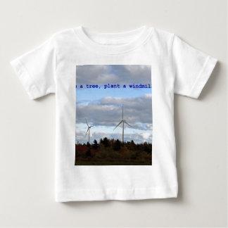 Save a tree, plant a windmill! t-shirt