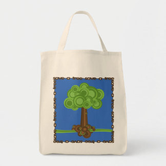 Save A Tree Re-usable Grocery Bag