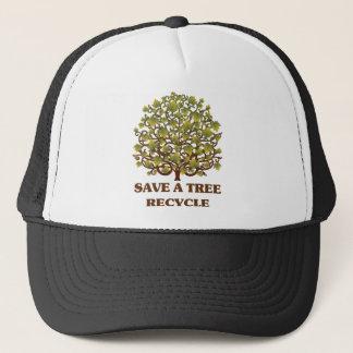 Save a Tree Trucker Hat