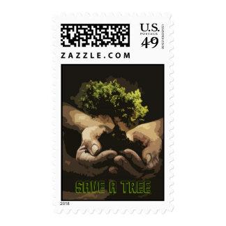Save a Tree US Postage Stamp