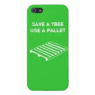 Save a Tree, Use a Pallet iPhone case