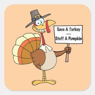 Save A Turkey Stickers