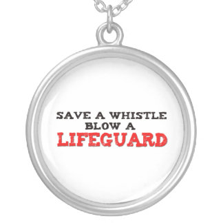 Save a Whistle, Blow a Lifeguard Custom Jewelry