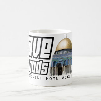 SAVE AL-QUDS COFFEE MUG