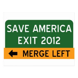 Save America Democrat Postcard