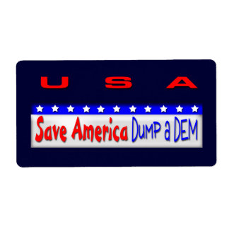 Save america dump a DEM Label