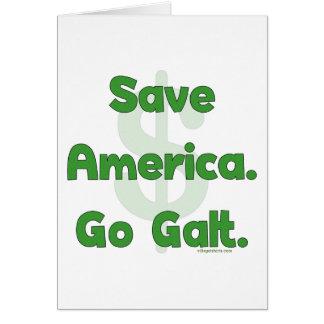 Save America Go Galt Card