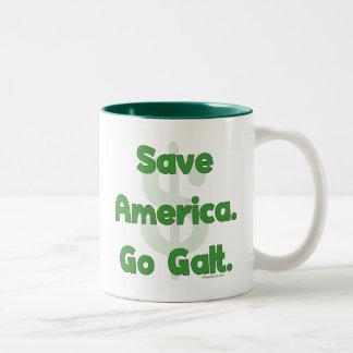 Save America Go Galt Coffee Mugs
