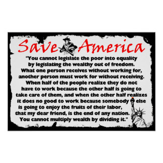Save America! Poster