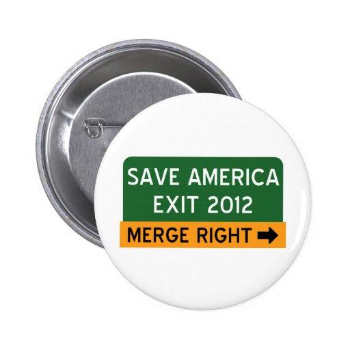 Save America Repulican Button