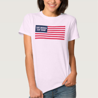 Save America Stop Trump Red and Blue Edition Women Shirt