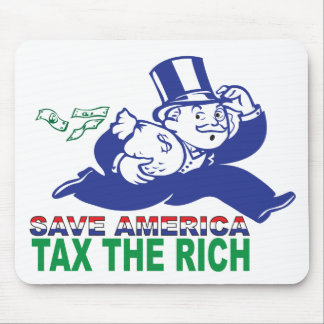 Save America/ Tax the Rich Mouse Pad
