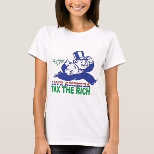 Save America/ Tax the Rich T-Shirt