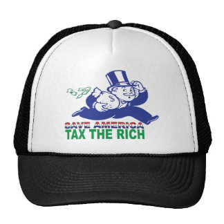 Save America/ Tax the Rich Trucker Hat