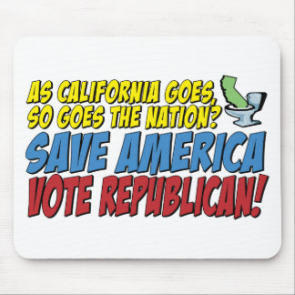 Save America, Vote Republican! Mouse Pads