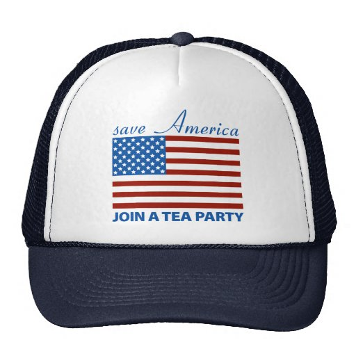 Save American - Join a TEA Party Trucker Hat
