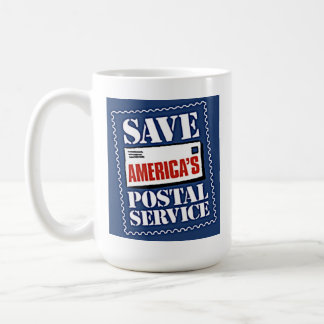 Save America's Postal Service Classic White Coffee Mug